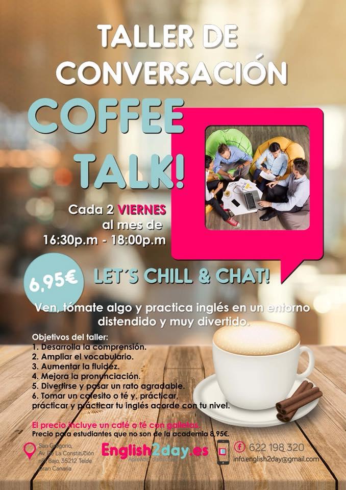 Clases de conversación de inglés Las Palmas