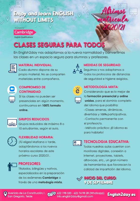 Clases de inglés Las Palmas de Gran Canaria